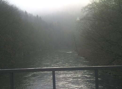 Diedrichstempel im Nebel